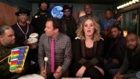 Adele's 'Hello' Gets the Jimmy Fallon Treatment (VIDEO)